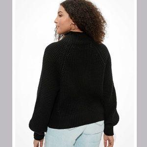 Dreamspun Mock Neck Sweater Size XS NWT